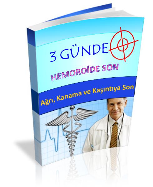3 günde hemoroid tedavisi